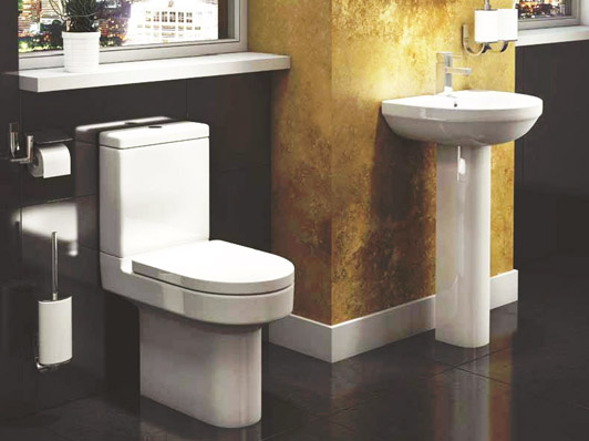 The Code Basin & Pedestal from VIP Bathrooms - now only 42.99 GBP!