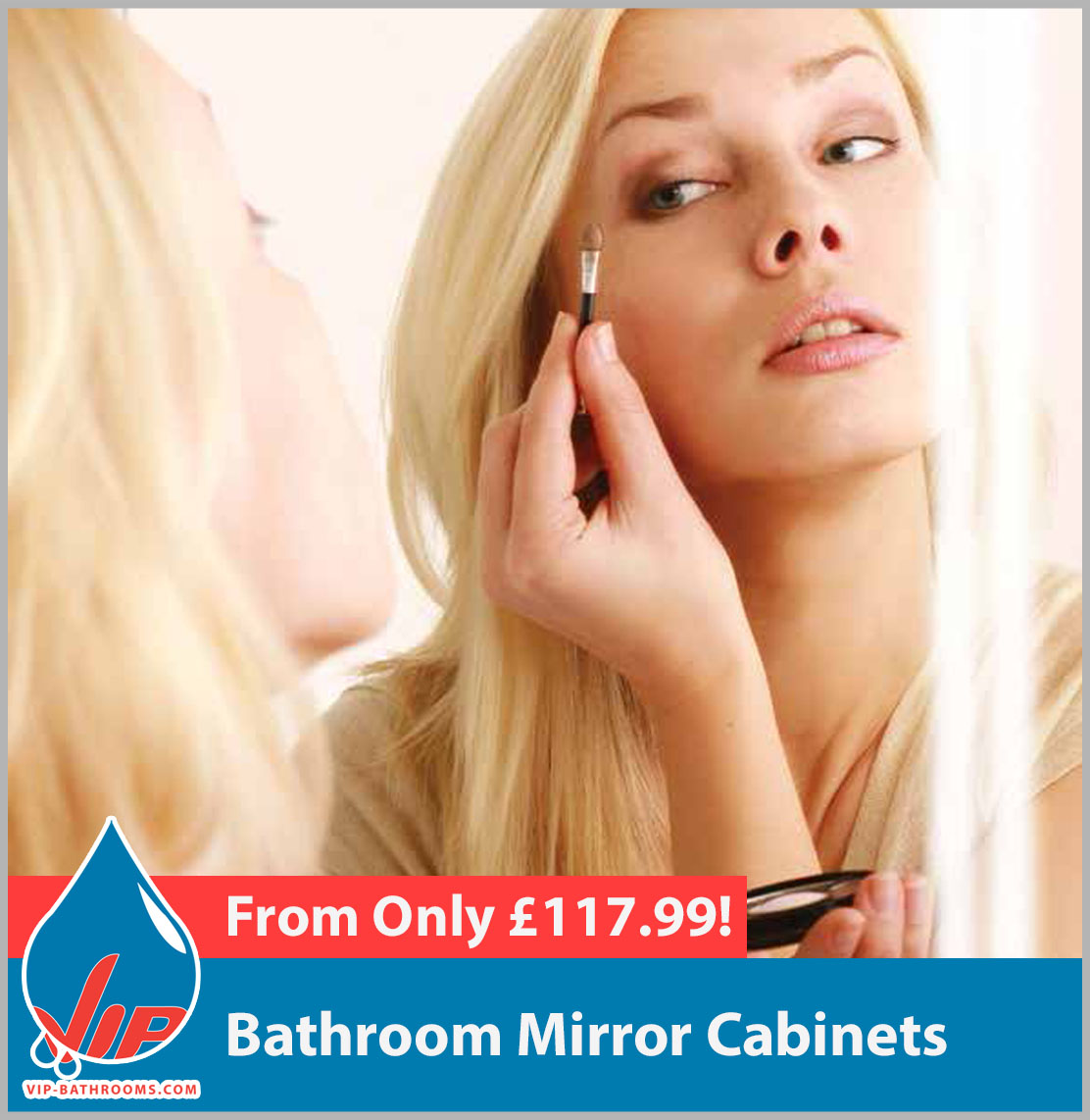 Click here to view our deluxe designer Bathroom Mirror Cabinets