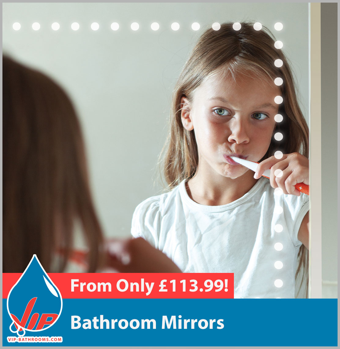 Click here to view our stunning designer Bathroom Mirrors