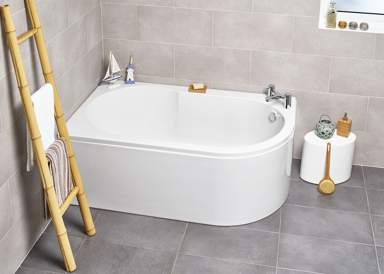 The Serena Corner Bath from Kartell K-Vit - now only 198.99 GBP!