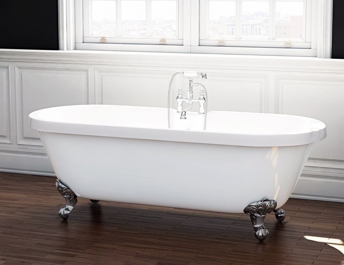 The Wilmslow Traditional Freestanding Slipper Bath from VIP Bathrooms - now only 429.99 GBP!