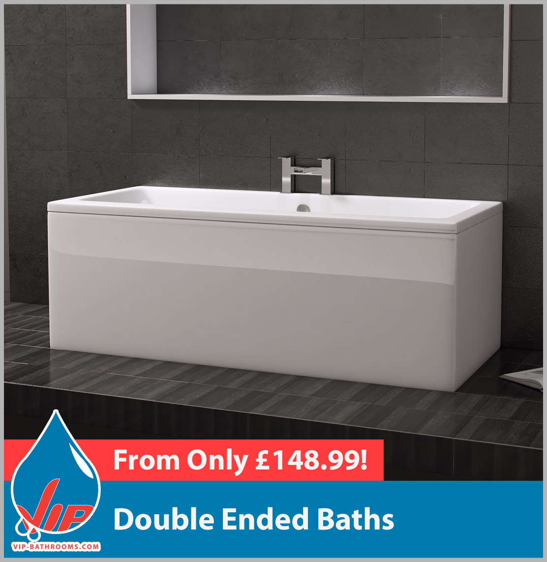 Click here to view our range of superb Straight Double Ended Baths