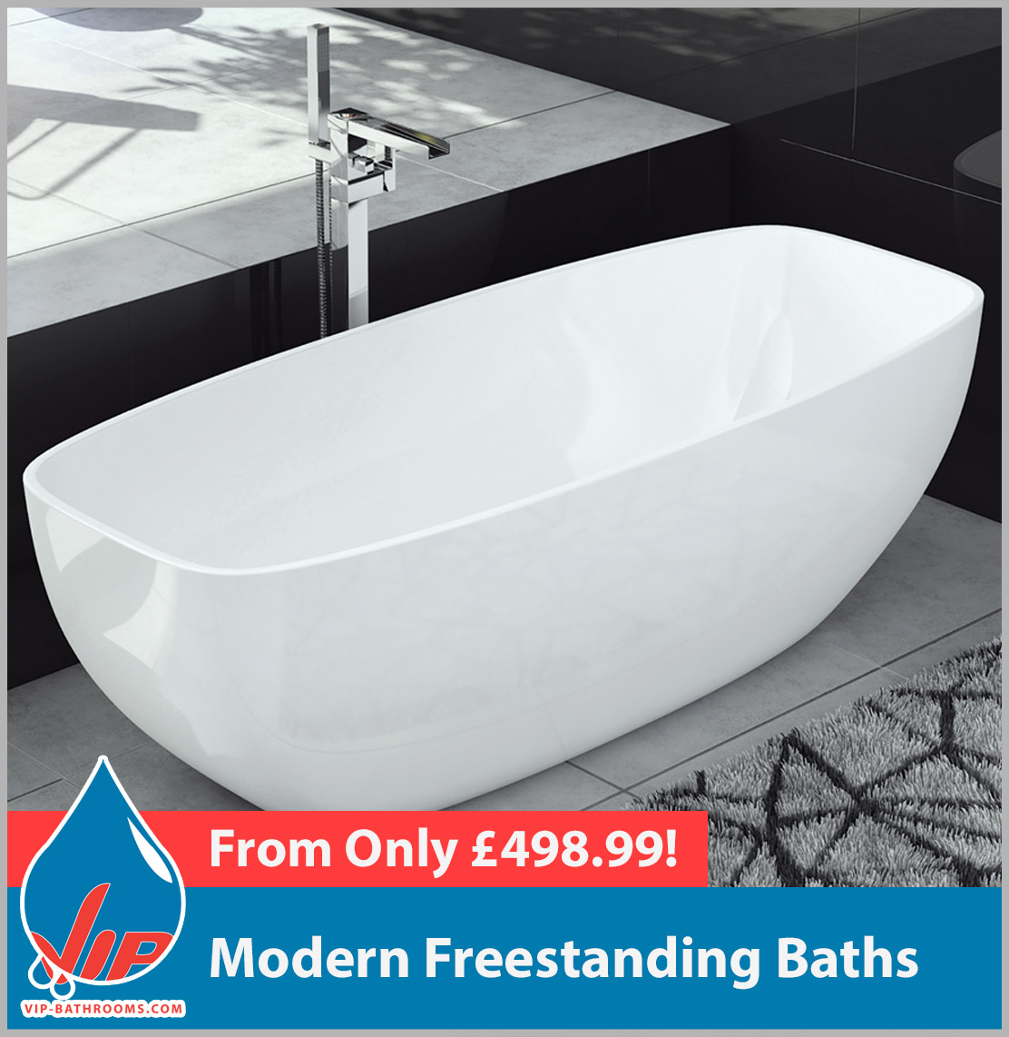 Click here to view our range of stunning designer Modern Freestanding Baths