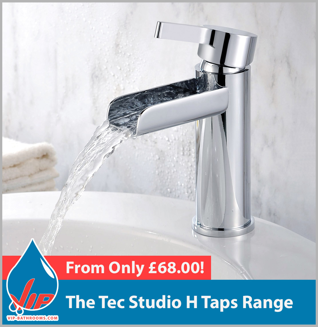 Click here to view the Tec Studio H range of high quality designer Bathroom Taps
