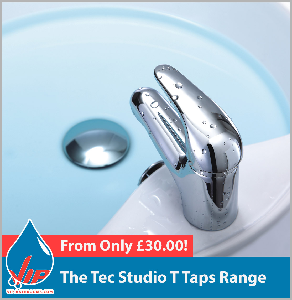 Click here to view the Tec Studio T range of high quality designer Bathroom Taps