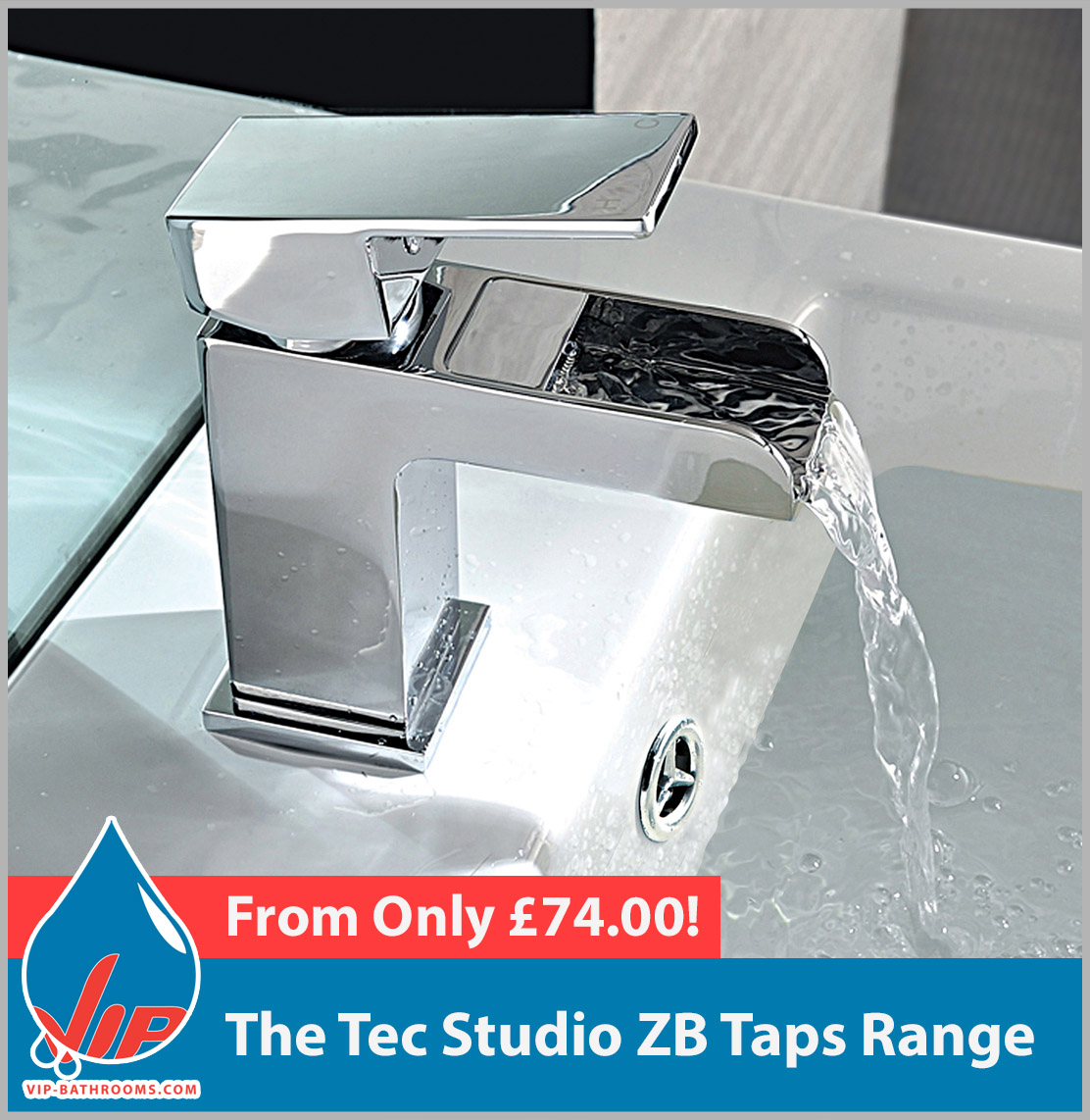 Click here to view the Tec Studio ZB range of high quality designer Bathroom Taps